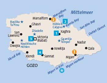 Gozo Karte
