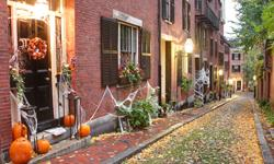 Halloween Urlaub Boston