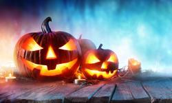 Halloween Urlaub Deko