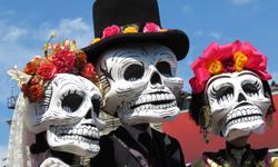 Halloween Urlaub Dia de los Muertos
