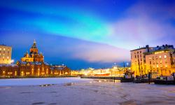 Helsinki im Winter, Finnland Winterurlaub
