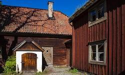 Holzhütte Schweden
