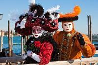 Februar Karneval Venedig
