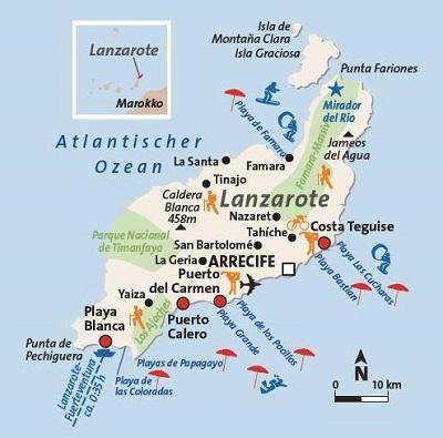 Beste Reisezeit Lanzarote Klima Temperaturen Reisetipps Bei Fti