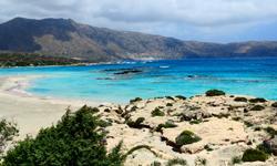 Kreta Elafonissi Strand