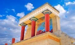 Kreta Palast Knossos