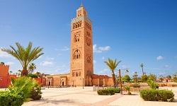 Marrakesch Koutubia Moschee
