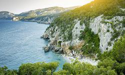 Orosei Strand Sardinien