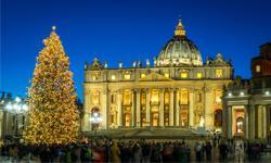 Petersdom Weihnachten Rom