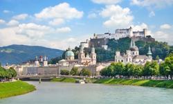 Reise Österreich Schloss Salzburg