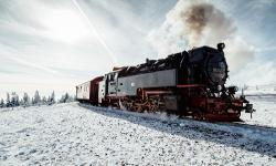 Schmalspurbahn Harz Winter