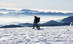 Schneeschuhwandern Winterurlaub Slowenien