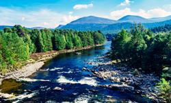 Schottland Urlaub River Dee
