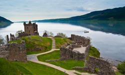 Schottland Urlaub Urquhart Castle
