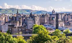 Städtereise Edinburgh Skyline
