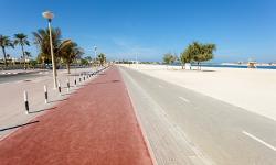 Strandurlaub Dubai Al Mamzar Beach