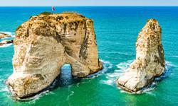 Taubenfelsen Beirut