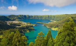 Urlaub Azoren Feuersee