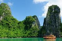 Vietnam Karstfelsen