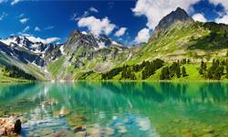 Wanderurlaub Österreich Bergsee