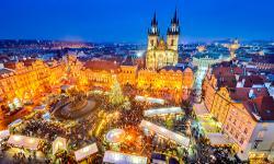 Weihnachtsmarkt Prag im Winter