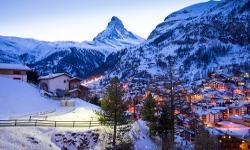 Zermatt Winterurlaub Schweiz
