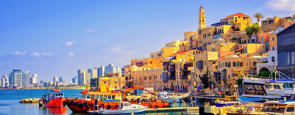 Israel Urlaub Tel Aviv Hafen