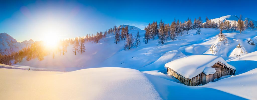Skiurlaub direkt an der Piste