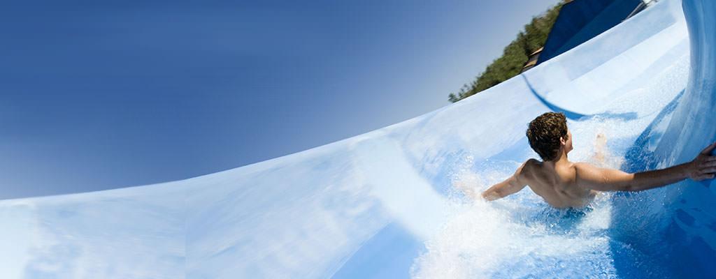 Wasserrutschen Urlaub
