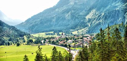 Autoreise Urlaub Schweiz