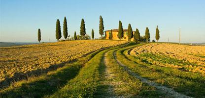 Autoreise Urlaub Toskana