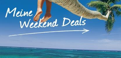 Weekend Deals Preisreduziert Urlaub Schnäppchen