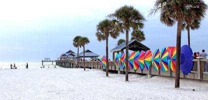 Florida Strand Clearwater Beach