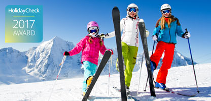 HolidayCheck Award 2017 Skiurlaub Hotels