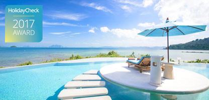 HolidayCheck Award 2017 spektakuläre Pools Hotels