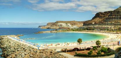 Strandhotel auf Gran Canaria