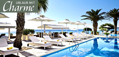 Urlaub mit Charme Griechenland Afitis Boutique Hotel