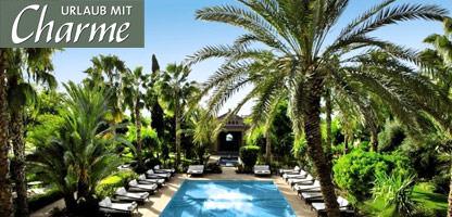 Urlaub mit Charme Marokko Palais de l'Ô