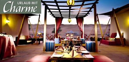 Urlaub mit Charme Oman Desert Nights Camp