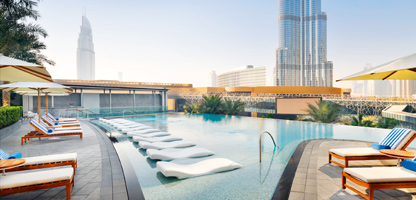 Urlaub Dubai Address Boulevard