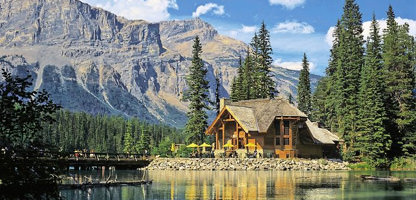 British Columbia Emerald Lake Lodge