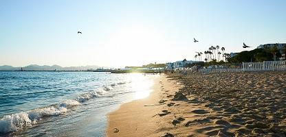 Strandurlaub Côte d'Azur
