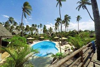 Green and Blue Zanzibar Ocean Lodge