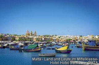 Malta - Land und Leute im Mittelklasse-Hotel Hotel Sunflower