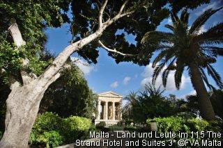 Malta - Land und Leute im Mittelklasse-Hotel 115 The Strand Hotel and Suites
