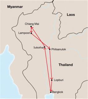 Thailand Rundreise - 'Thailand Classic'
