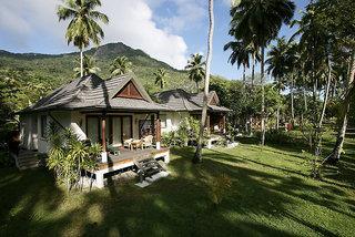 Hilton Seychelles Labriz Resort & Spa - Insel Silhouette